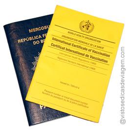 Certificado internacional de vacinação e profilaxia