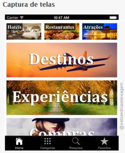 STGuides: aplicativo com dicas de viagem