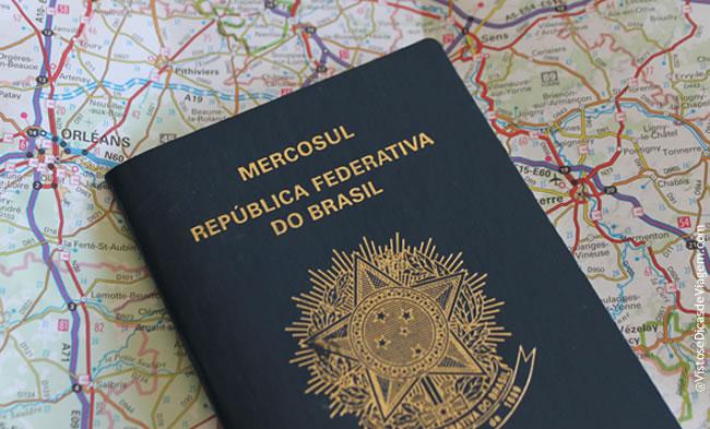 Extravio de Passaporte durante a viagem
