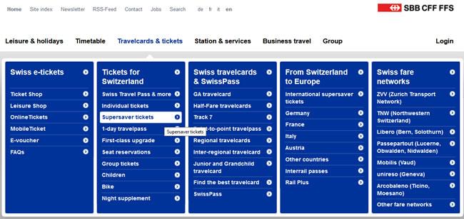 Viagem de Trem na Suíça: como comprar bilhete barato! (Passo 1)