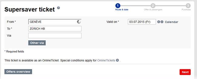 Viagem de Trem na Suíça: como comprar bilhete barato! (Passo 3)