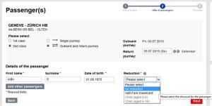 Viagem de Trem na Suíça: como comprar bilhete barato! (Passo 4)