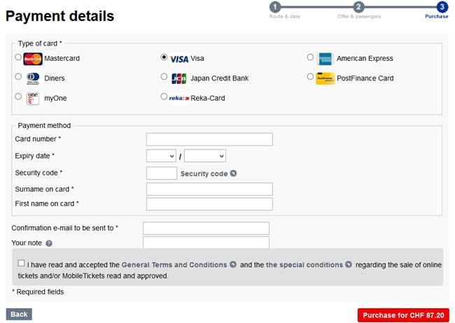 Viagem de Trem na Suíça: como comprar bilhete barato! (Passo 9)