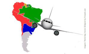 Companhias aéreas Low Cost: América do Sul
