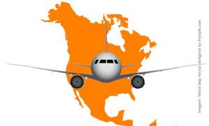 Companhias aéreas Low Cost: Estados Unidos e Canadá