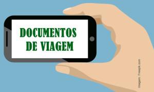 Digitalização de documentos de viagem