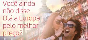 Promoção de passagens aéreas da Iberia