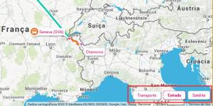 Rome2rio Tipos de mapa