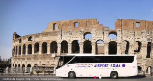 Transporte Aeroporto Fiumicino(Roma) para Estação Termini