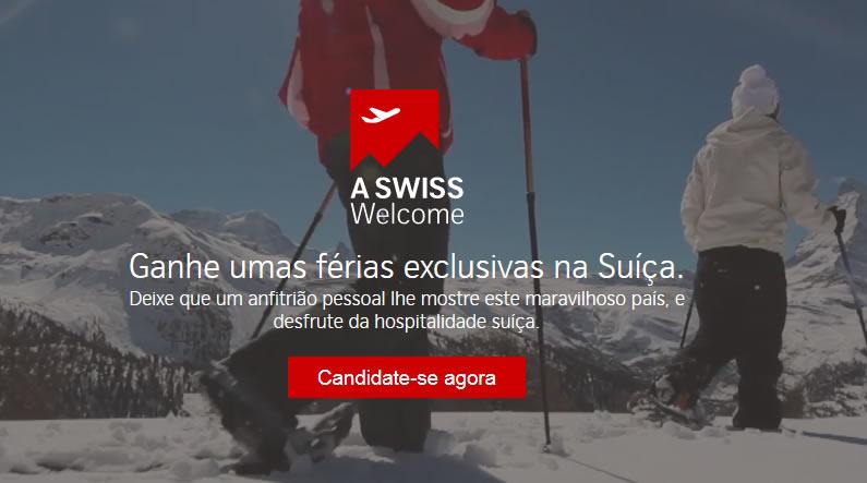 Promoção Viagem para Suíça