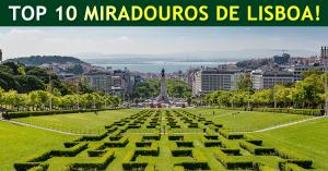 Top 10 mirantes de Lisboa