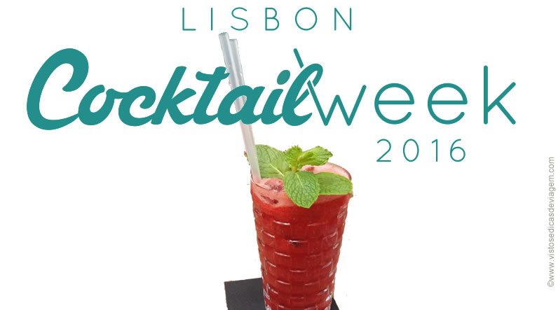 Lisbon Cocktail Week: de 22/01 a 01 de Maio de 2016