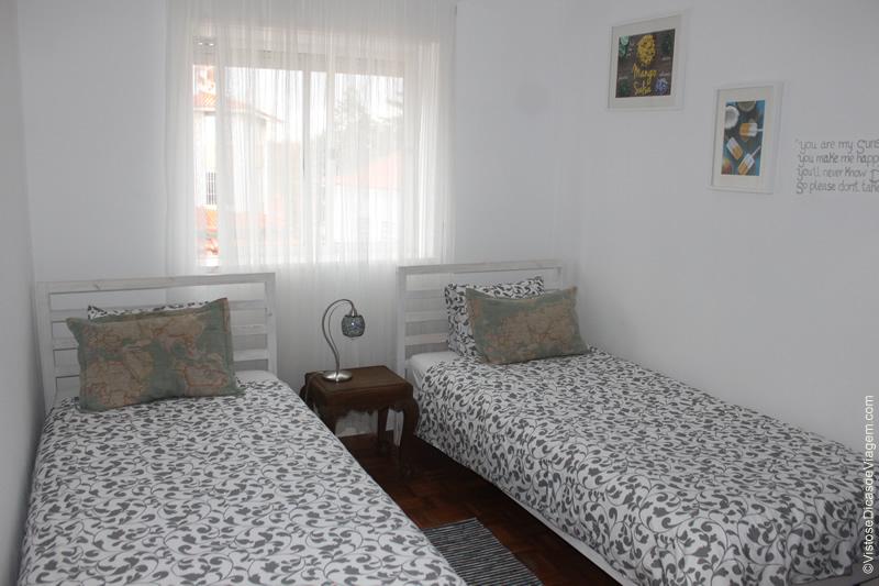 Ljmonade Hostel: quarto com duas camas de solteiro
