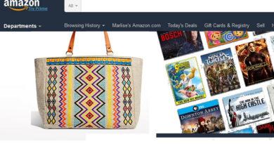 Compras no exterior: amazon.com