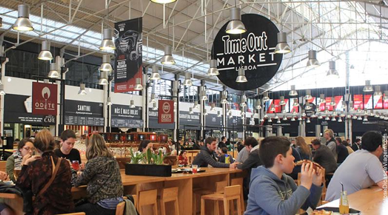 Timeout mercado da ribeira para quem gosta de comer e beber for Declaracao de bens viagem exterior