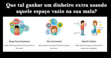 Entrusters: compre no exterior sem sair da sua casa!